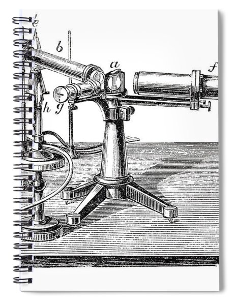 Bunsen-kirchhoff Spectroscopic Spiral Notebook by Science Source