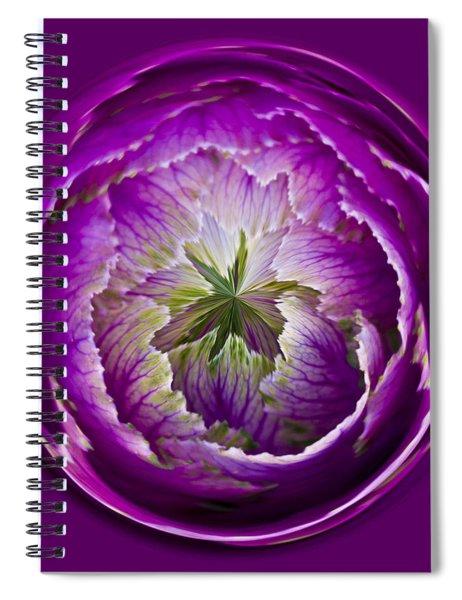 Cabbage Orb Spiral Notebook