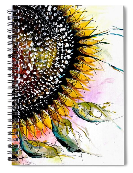 California Sunflower Spiral Notebook