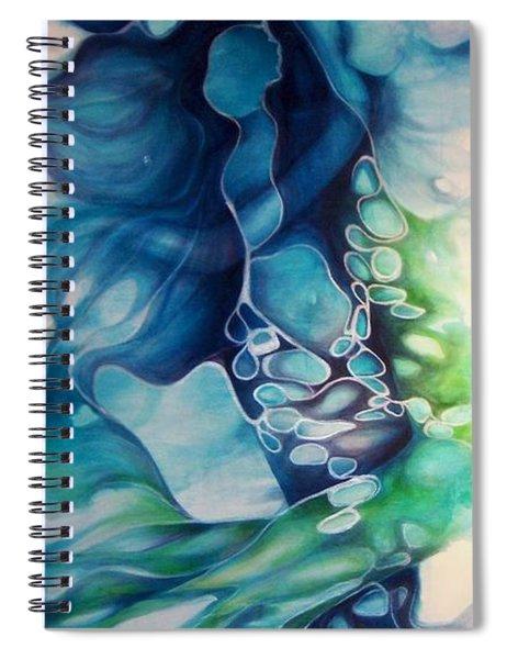 Calming Current 1 Spiral Notebook