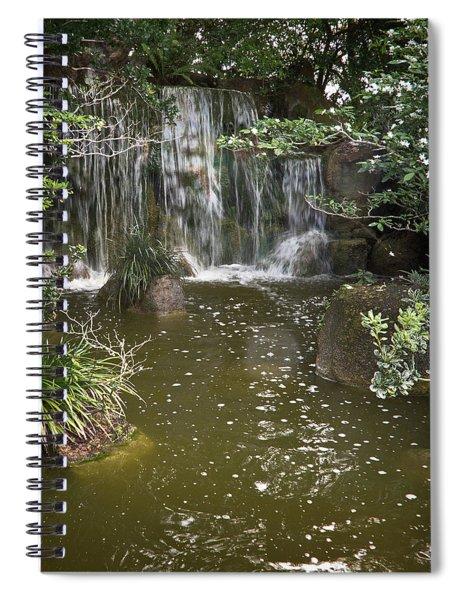 Calming Waterfall Spiral Notebook
