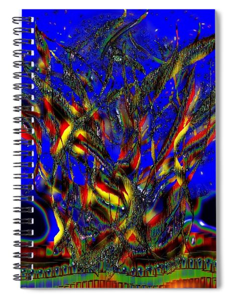 Camp Fire Delight Spiral Notebook