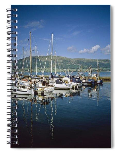 Carlingford Yacht Marina, Co Louth Spiral Notebook