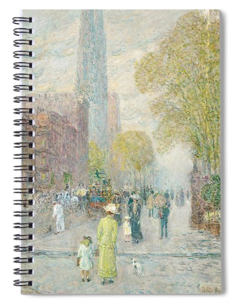 Cathedral Spires Spiral Notebook