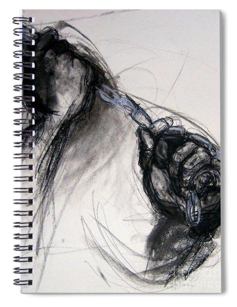 Chain Spiral Notebook