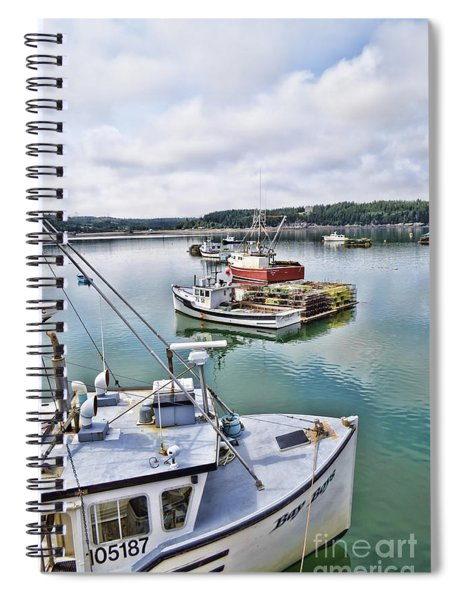 Chances Are Spiral Notebook