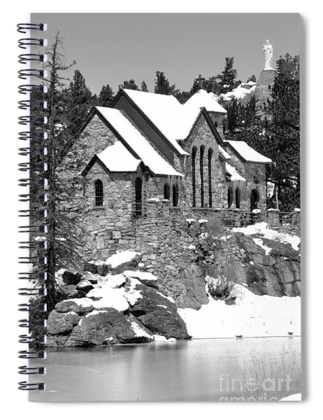 Chapel On The Rocks No. 2 Spiral Notebook