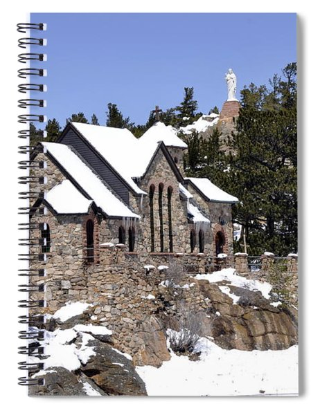 Chapel On The Rocks No. 3 Spiral Notebook