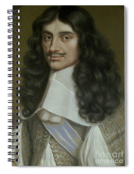 Charles II Spiral Notebook
