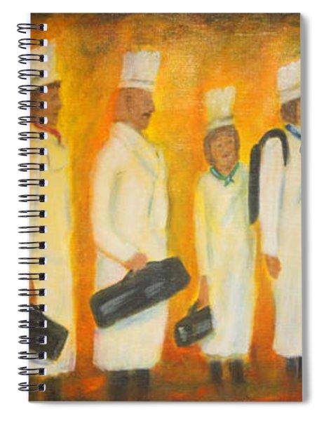Chef School Spiral Notebook