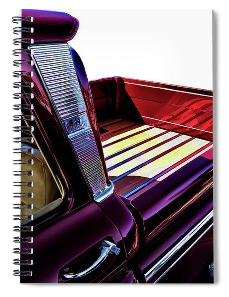 Chevy Custom Truckbed Spiral Notebook