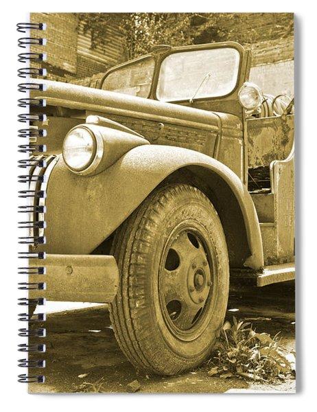 Chevy Firetruck  Spiral Notebook