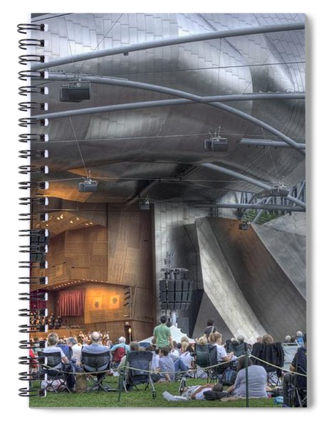 Chicago Symphony Orchestra Spiral Notebook
