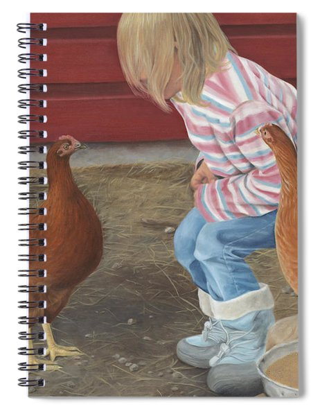 Chicken Talk Spiral Notebook