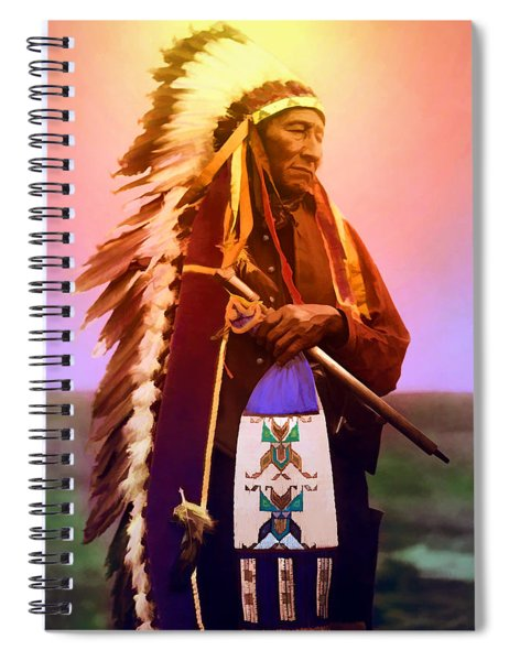 Chiefton Spiral Notebook
