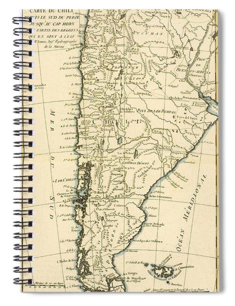 Chile Spiral Notebook