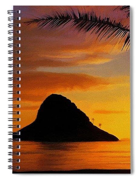 Chinaman's Hat Island Spiral Notebook