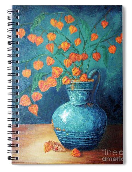 Chinese Lanterns Spiral Notebook