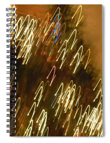 Christmas Card - Jingle Bells Spiral Notebook