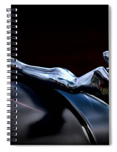 Chrome Angel Spiral Notebook