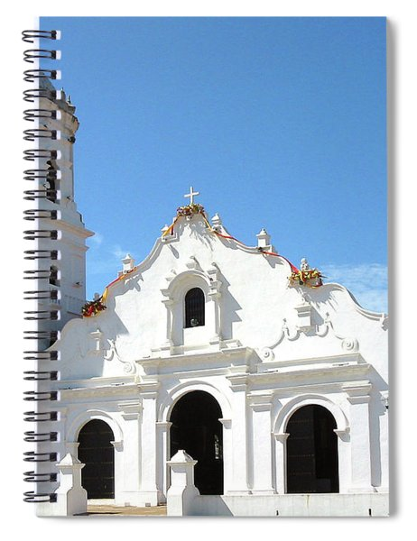Church Of Nata De Los Caballeros Spiral Notebook
