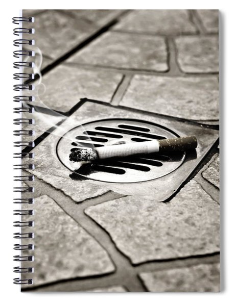 Cigarette Spiral Notebook