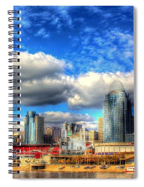 Cincinnati Skyline 2012 - 2 Spiral Notebook
