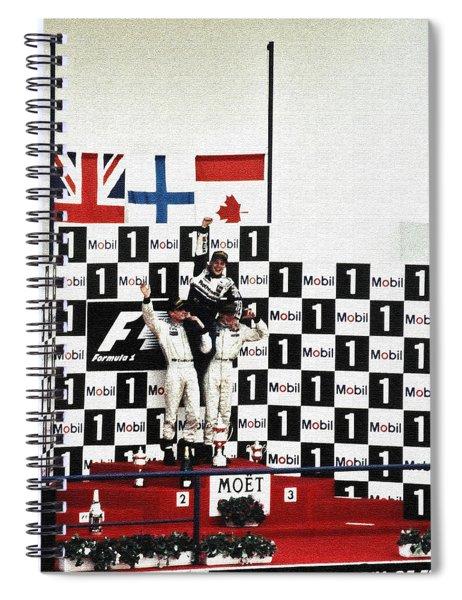 Circuito De Jerez 1997 Spiral Notebook