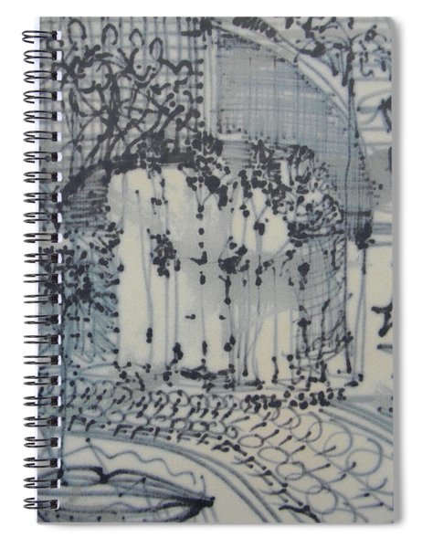 City Doodle Spiral Notebook