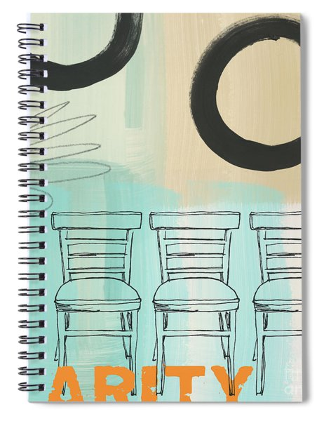 Clarity Spiral Notebook by Linda Woods