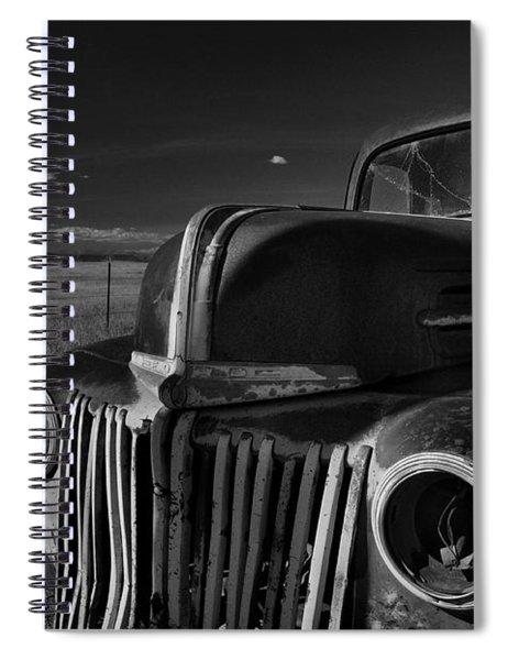 Classic Rust Spiral Notebook