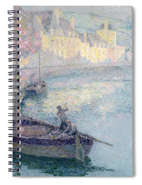 Clear Morning - Quimperle Spiral Notebook