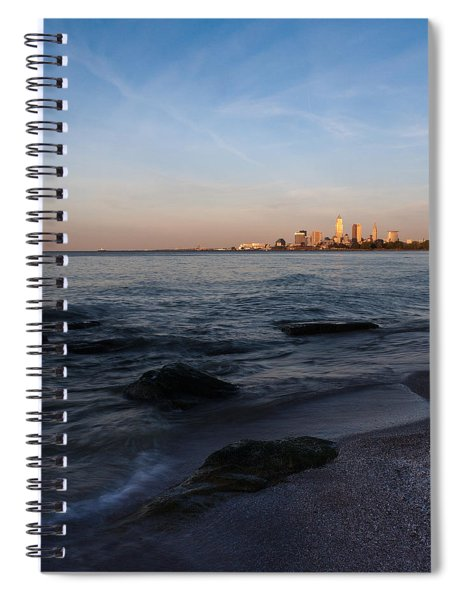 Cleveland From The Shadows Spiral Notebook