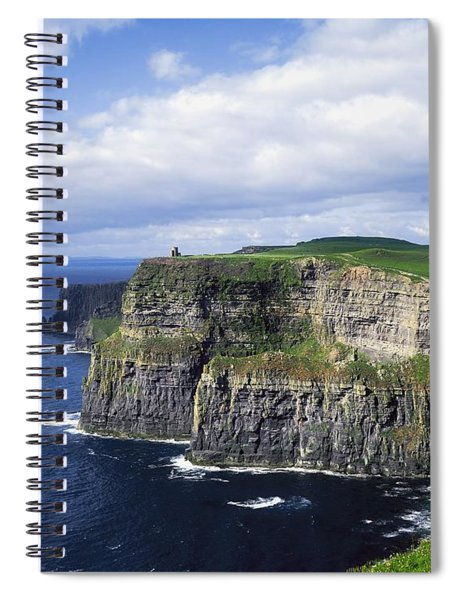 Cliffs Of Moher, Co Clare, Ireland Spiral Notebook