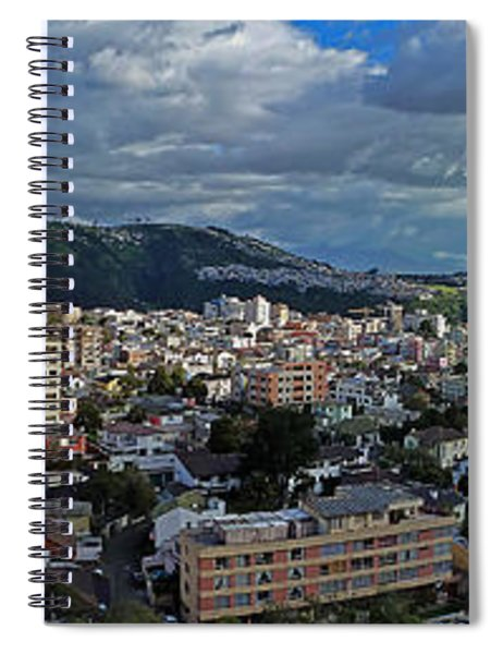 Close Of Business - Quito - Ecuador Spiral Notebook