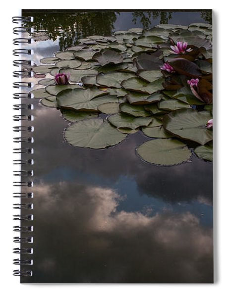 Clouded Pond Spiral Notebook