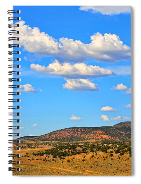 Cloudy Wyoming Sky Spiral Notebook