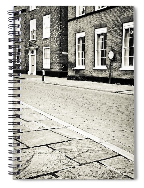 Cobbled Street Spiral Notebook