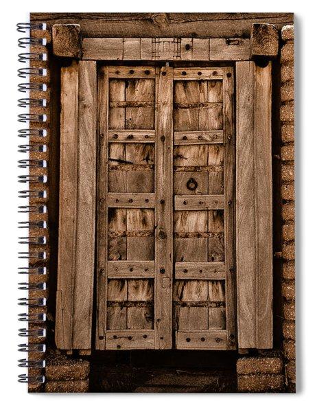 Albuquerque, New Mexico - Colonial Gate Spiral Notebook