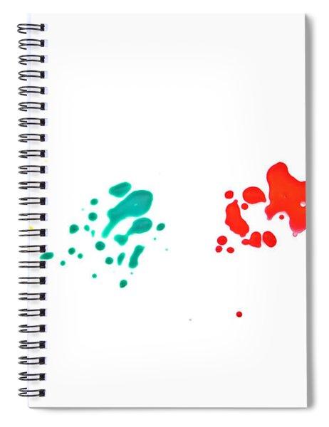 Color Splash Spiral Notebook