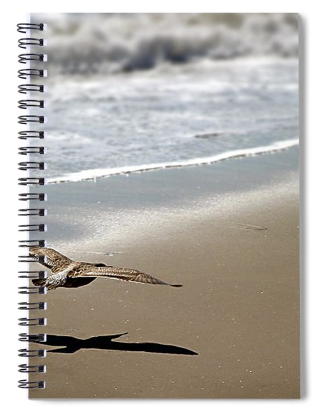 Coming In For Landing Spiral Notebook