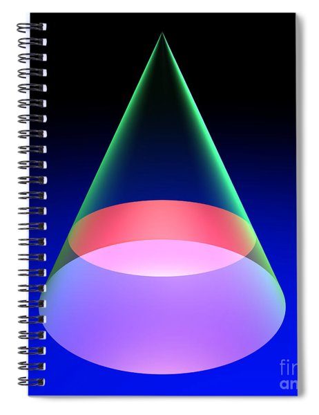 Conic Section Circle 6 Spiral Notebook