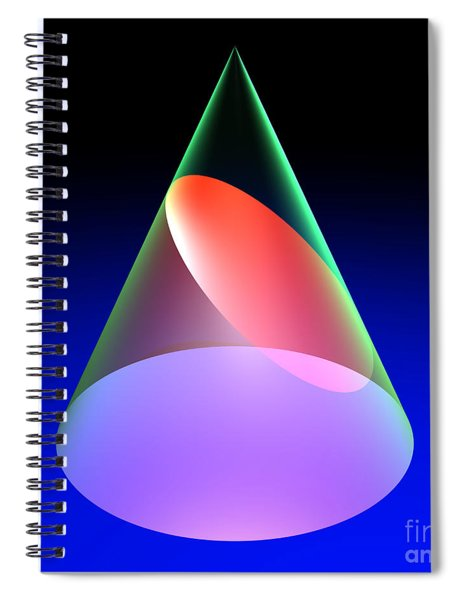 Conic Section Ellipse 6 Spiral Notebook