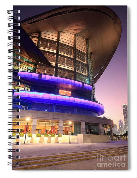 Convention And Exhibition Centre  Spiral Notebook