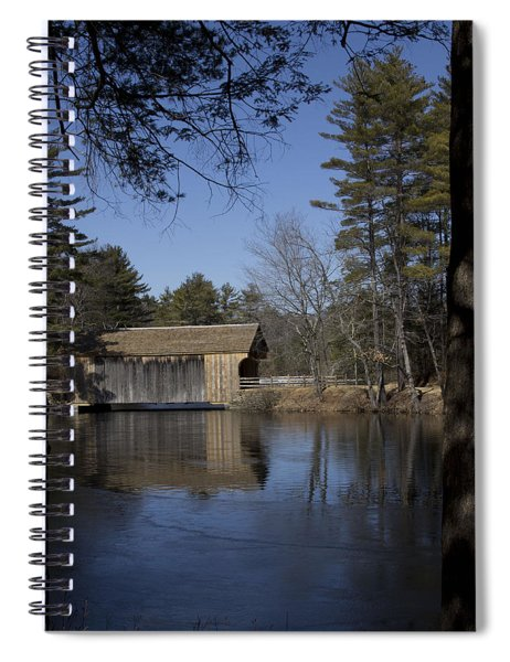 Cool Winter Morning Spiral Notebook