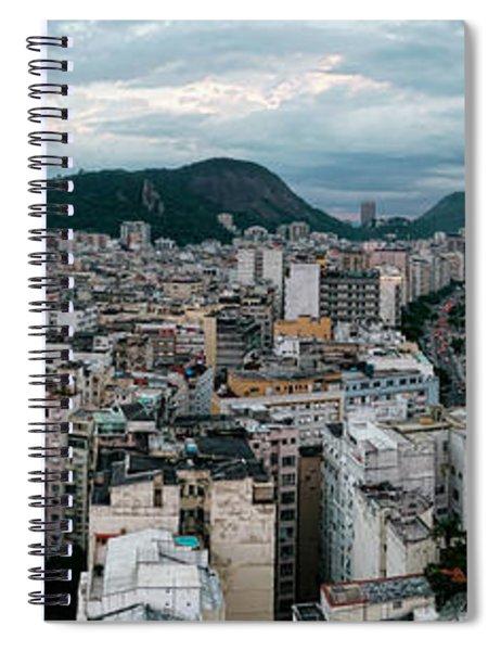 Copacabana Sunset Spiral Notebook