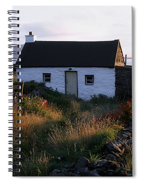 Cottage, Near Dunquin, Dingle Spiral Notebook