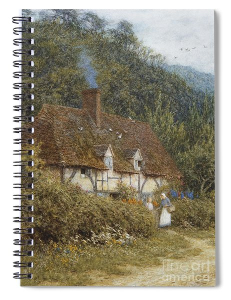 Cottage Near Witley Surrey Spiral Notebook