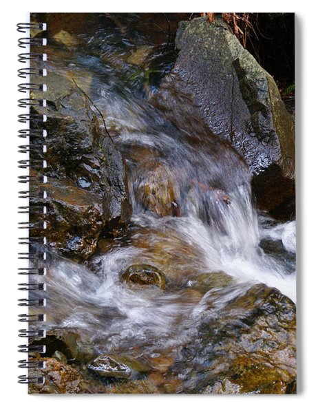 Creek Scene On Mt Tamalpais Spiral Notebook
