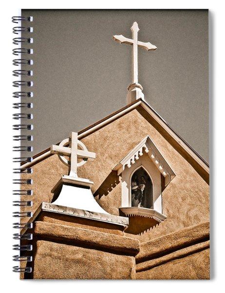 Cross Gable Spiral Notebook
